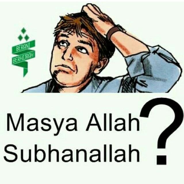 96% MUSLIM KELIRU MENGUCAPKAN KALIMAT SUBHANALLAH DAN MASYAALLAH