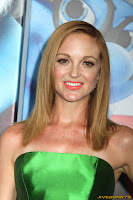 Jayma Mays The Smurfs premiere at the Ziegfeld Theatre