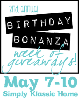 Announcing the Birthday Bonanza Week of Giveaways!!!