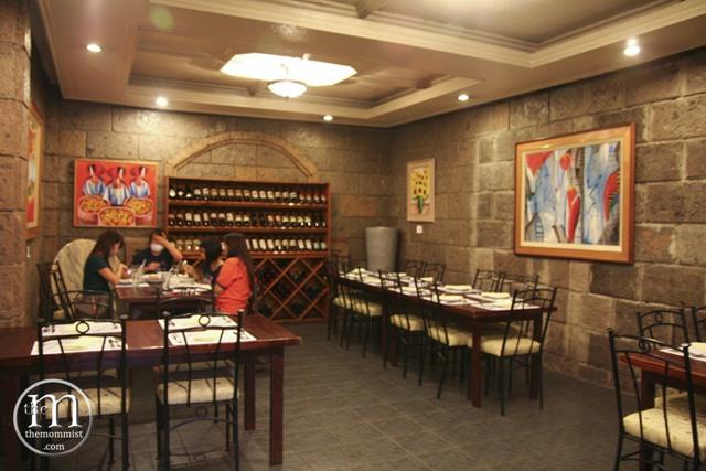 C'Italian Dining interior