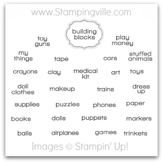 Stampin' Up! Label This Playroom Designer Template