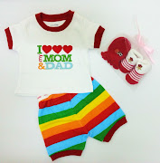 Baby Gap I love Mom & Dad RM 32 + MB14 RM 12