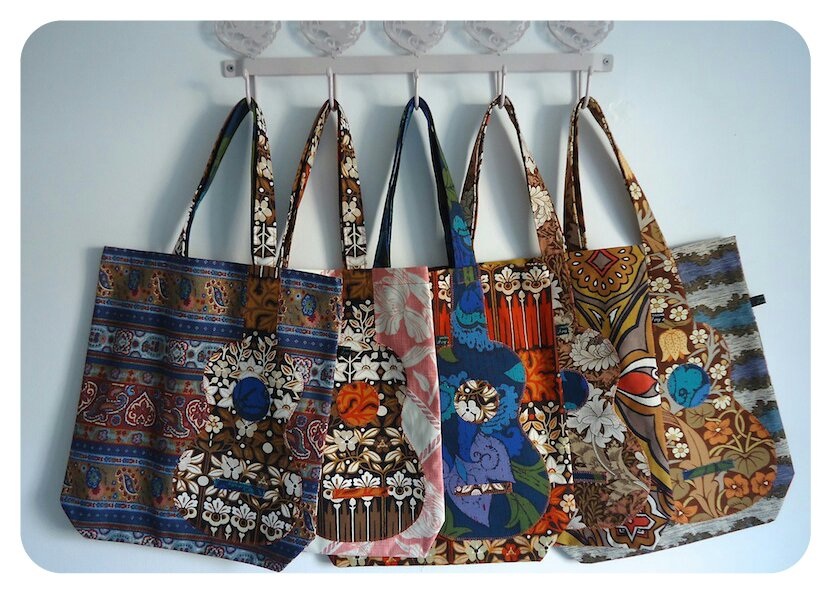 November's bags, grand finale! All handmade by Ivy Arch