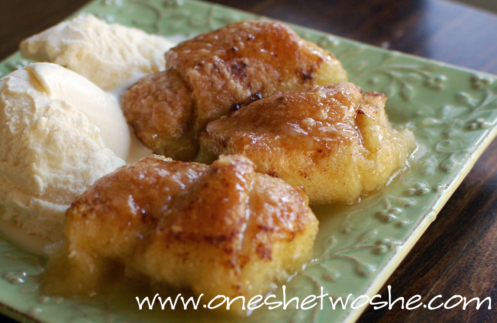 Apple Dumplings ~ - Or so she says...