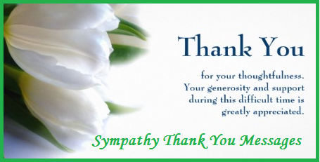 Sample Messages and Wishes! : Sympathy Messages