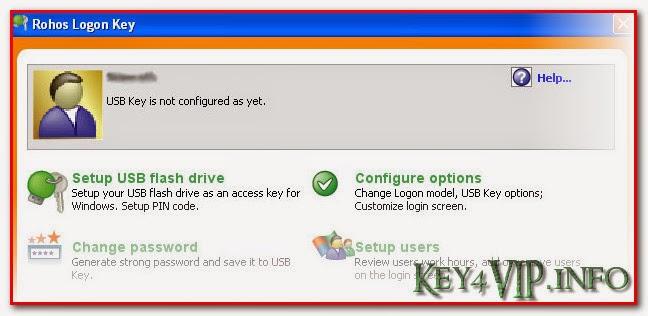 Rohos Logon Key 3.1 Full Key,Phần mềm giúp truy cập windows bằng USB