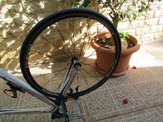 Cambiar las ruedas de la bici