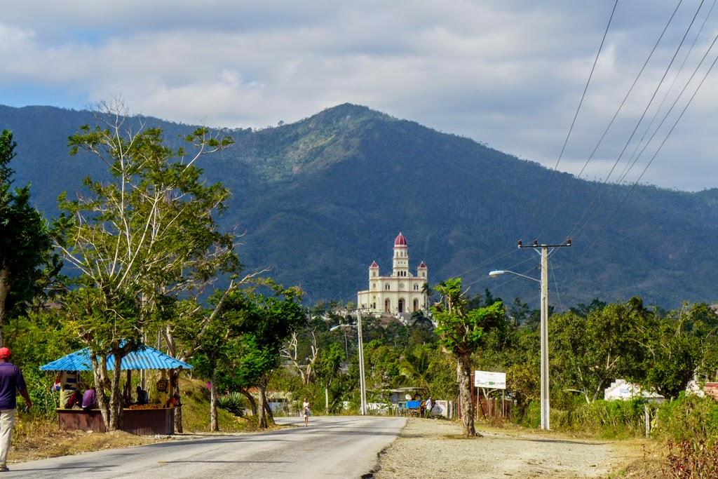 Cuba, El Cobre in the distance