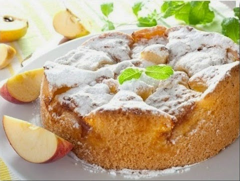 Рецепти яблучного пирога з фото