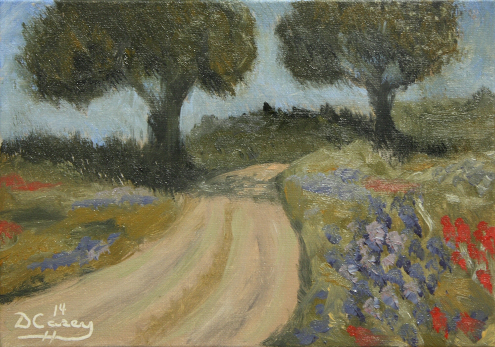 Landscape - Bluebell Highway 001a 5x7 oil on linen panel - Dave Casey - TheDailyPainter.jpg