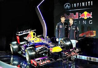 Pilotos equipo Red Bull F1 2013, Vettel y Webber