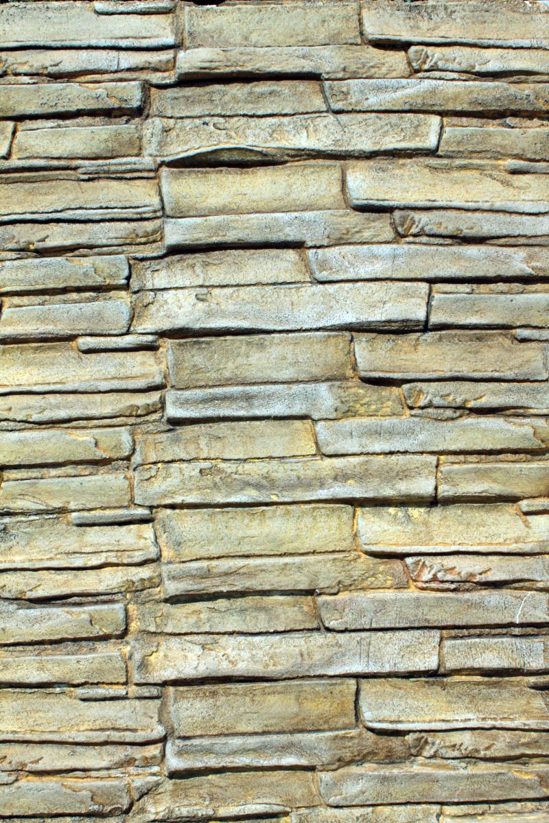 Bb Faux Finish Stone Line Stencil
