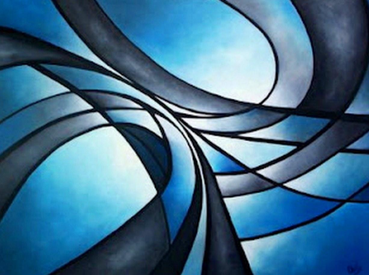 Pinturas cuadros lienzos cuadros en lienzo for Fotos de cuadros abstractos minimalistas