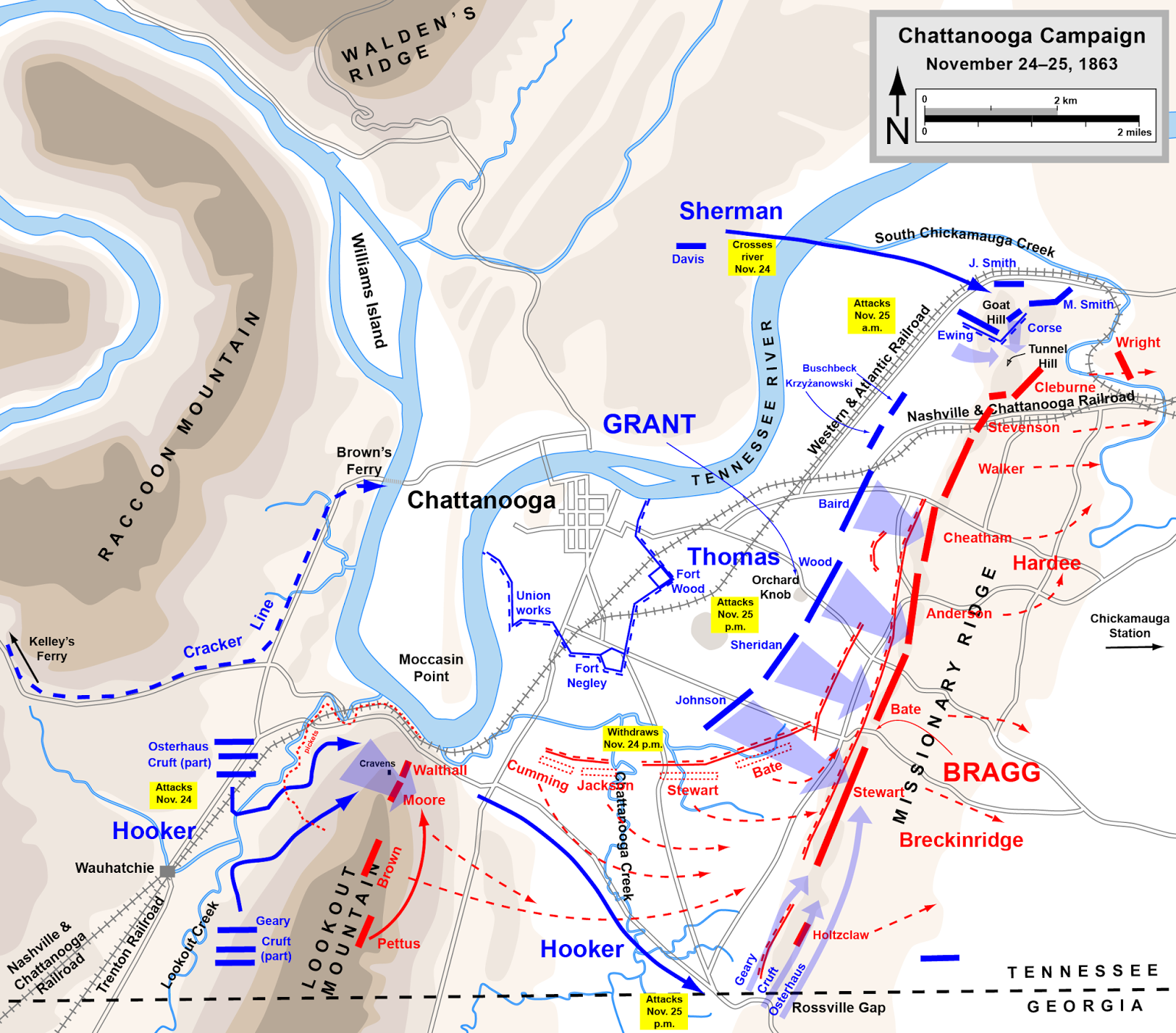 32nd Mississippi Infantry at 150: The Battle of Orchard ...