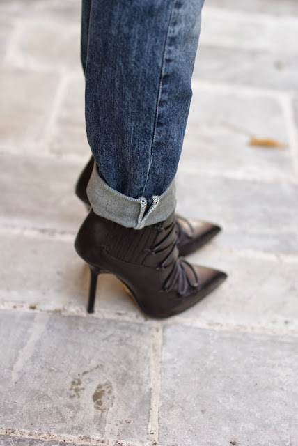 Cesare Paciotti ankle boots, Fashion and Cookies, fashion blogger