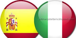 Prediksi Spanyol vs Italia | Jadwal Skor Final Euro Senin 2 Juli 2012