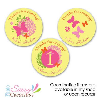 butterflies custom stickers