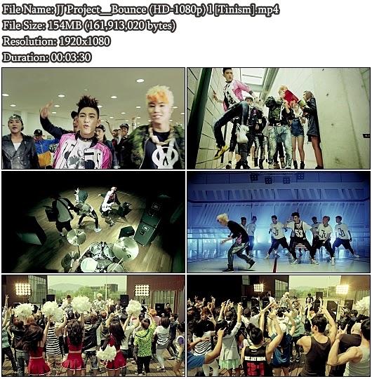 Download MV JJ Project (JB & JR) - Bounce (Full HD 1080p)