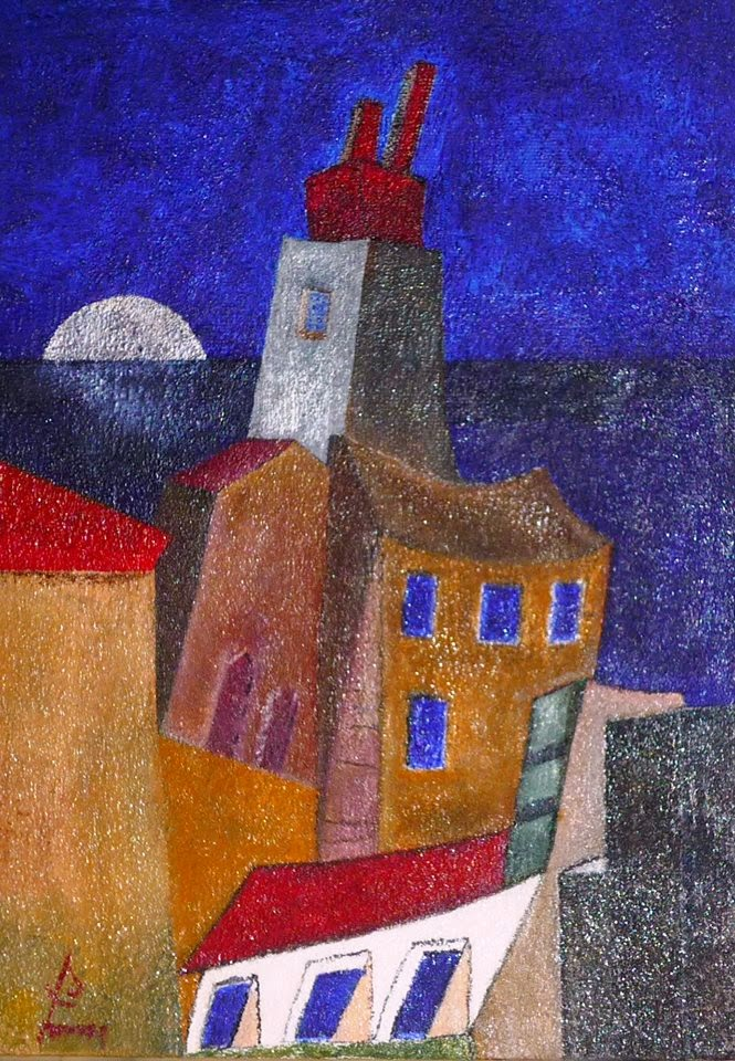 Beaubourg - demi lune