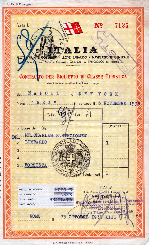 Sisters Warehouse Vintage Shipping Tickets Biglietti D