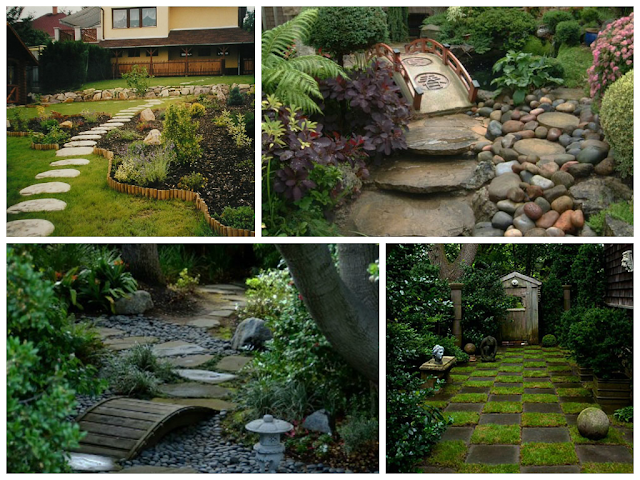 ideias caminhos jardim: mesma não pode fazer sua pedra para compor seu caminho no jardim
