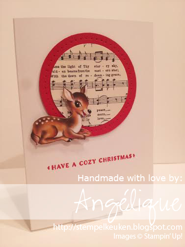 Stampin' Up!  Stempelkeuken  Angélique Nederpel, Home for Christmas, Cozy Christmas