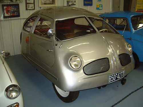 micro carros - microcars - Hoffmann