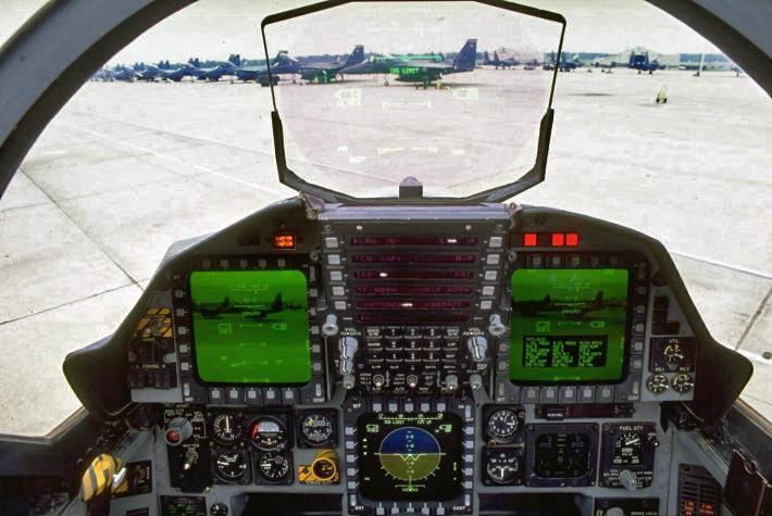 F 15 Cockpit Defense Strategies: Am...