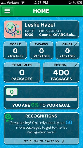 Girl scouts of san jacinto council blog phone app puts success of coco created by abc bakers one of two official bakers of girl scout cookies is girls online command center for their cookie business colourmoves