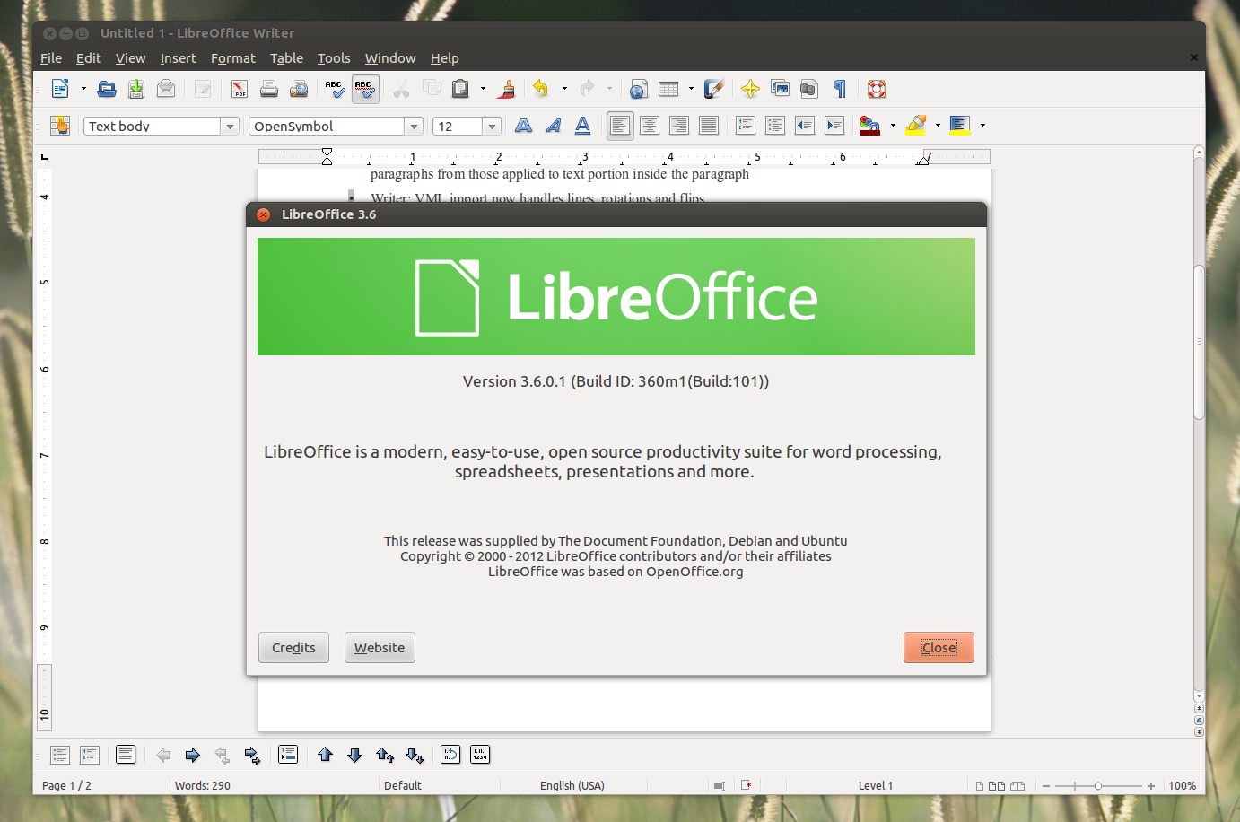 how to get apa reference on libreoffice