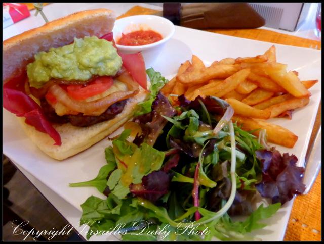 O'Maquis restaurant africain Versailles burger