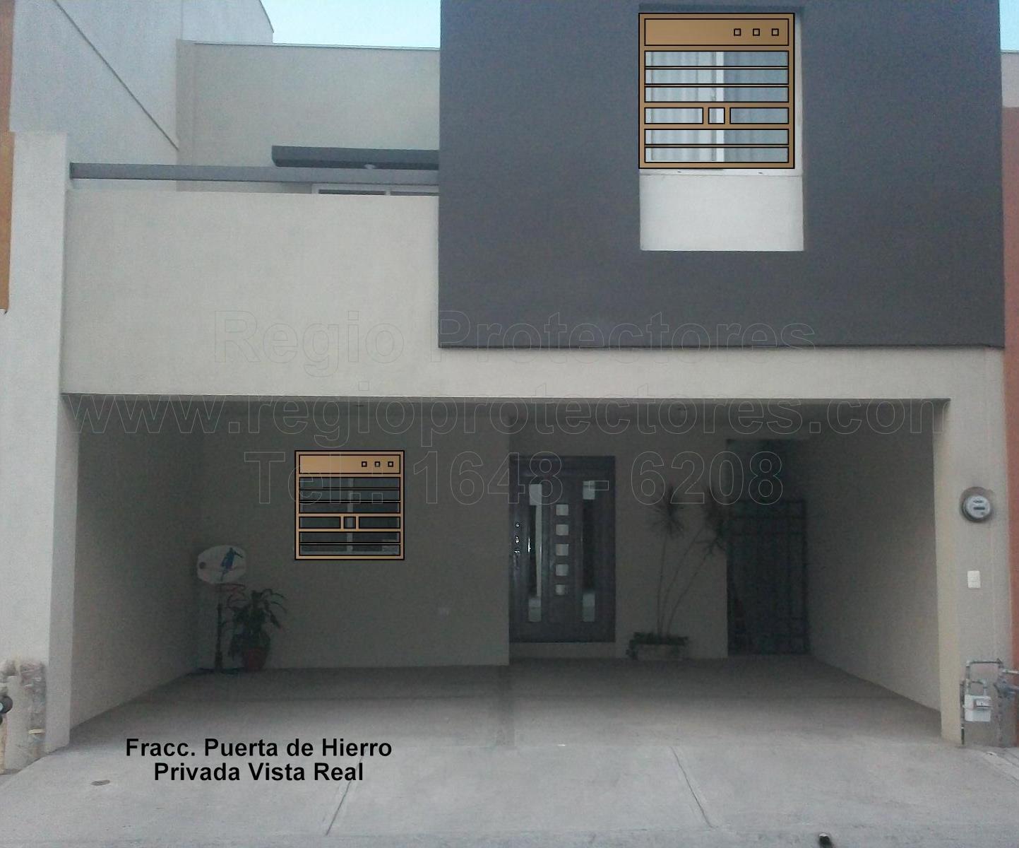 Protectores para ventanas y Puertas, Fracc. Puerta de Hierro - Privada