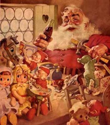 Pub Coca-Cola Père Noël