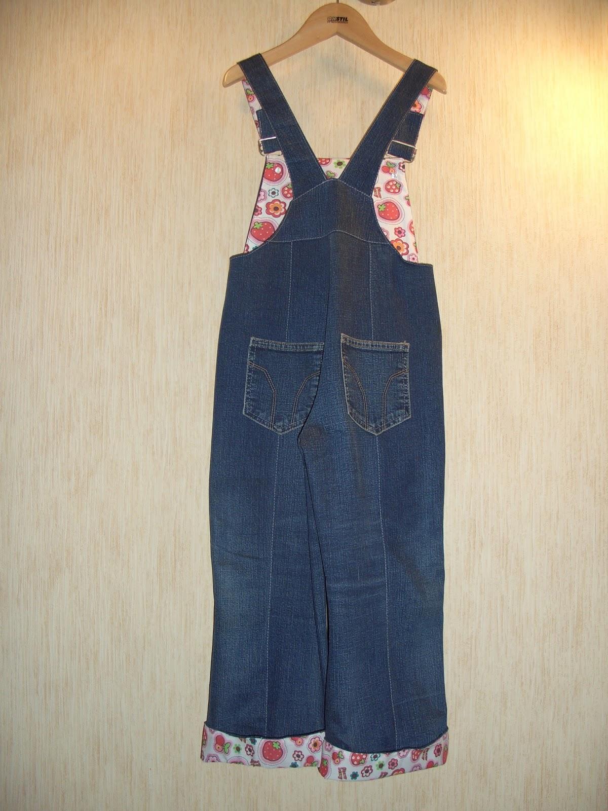 Сарафан из старых джинсов 19