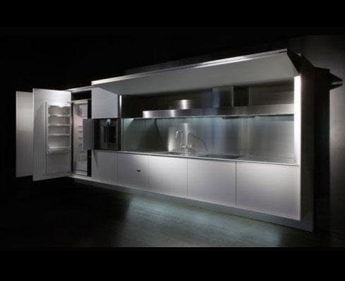 Focus cucina tra hi tech e natural style karmarchitettura for Boffi cucine a scomparsa