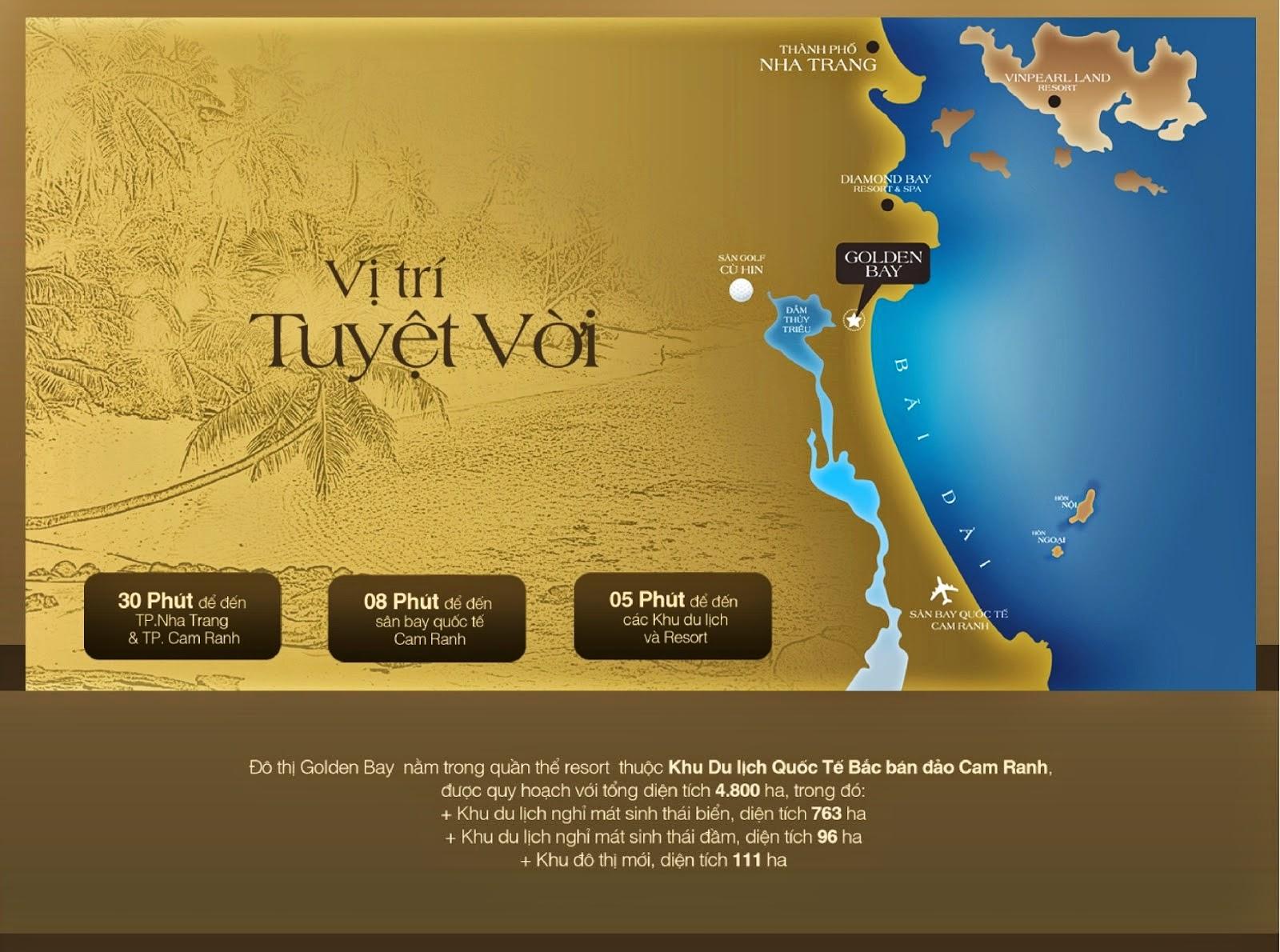 Đất Nền Golden Bay Cam Ranh