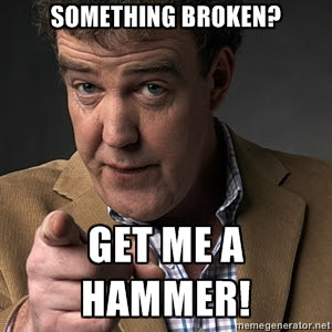 Jeremy Clarkson Top Gear Hammer