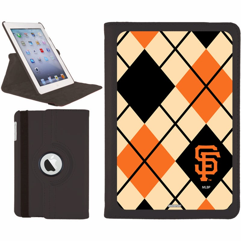 San Francisco Giants MLB Argyle iPad Mini Swivel Case