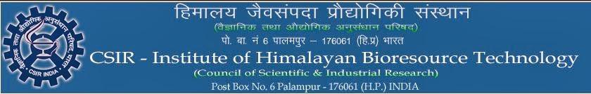 IHBT Palampur