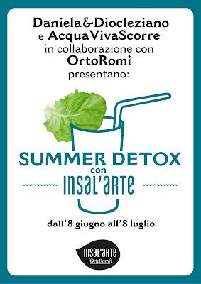 summer detox con insal'arte , una raccolta light per l'estate