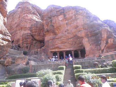 Badami, cave temple