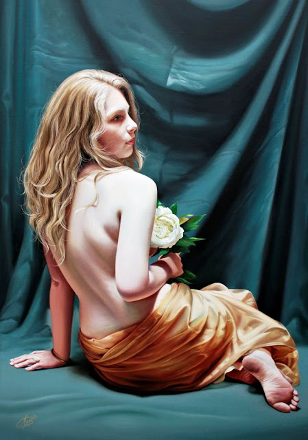 Christiane Vluegels realistic paintings
