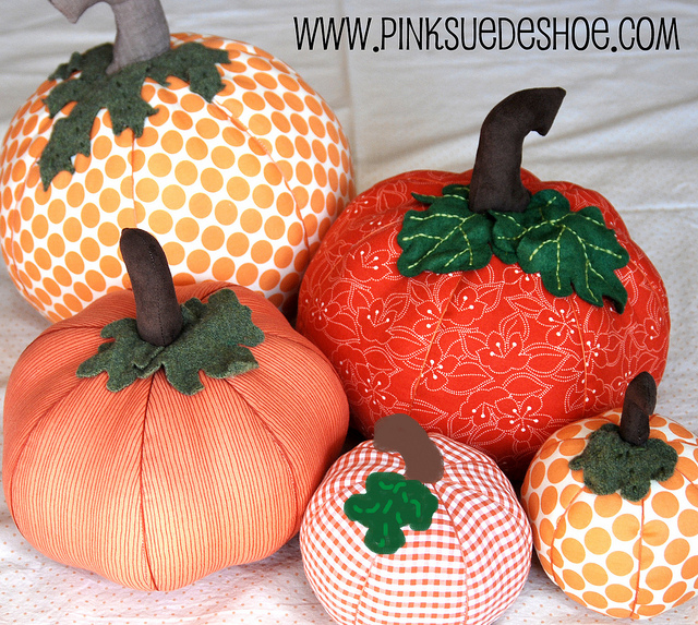 The sew er caker copycat maker fabric pumpkin