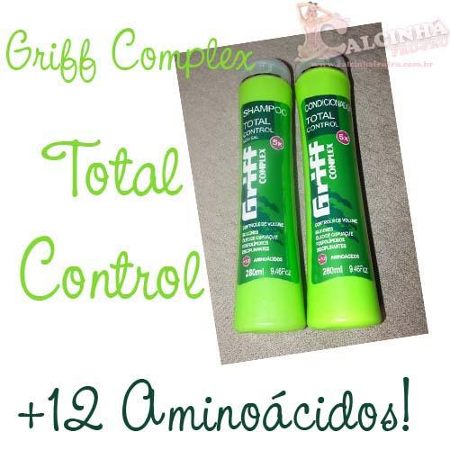 Shampoo e Condicionador Total Control - GriffComplex