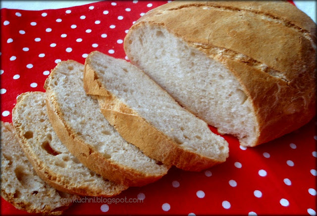 chleb pszenny na zakwasie, chleb pszenny, chleb na zakwasie, chleb domowy