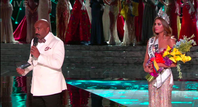 Steve Harvey crowned the wrong girl at the Miss Universe pageant