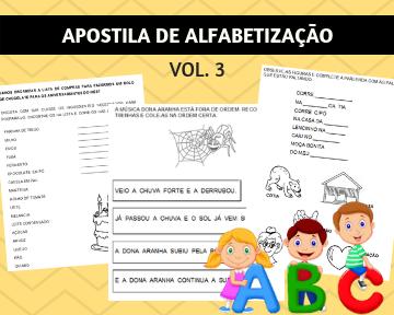 APOSTILAS DE ALFABETIZAÇÃO
