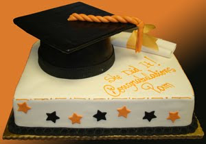Perfect Graduation Sheet Cake