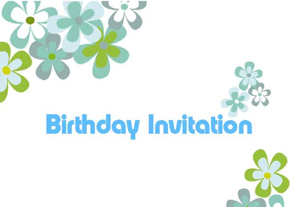 Wording For Birthday Invitations and get inspiration to create nice invitation ideas