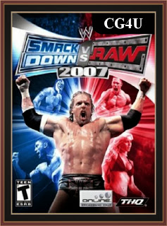 WWE SmackDown vs. Raw 2007 Cover, Poster